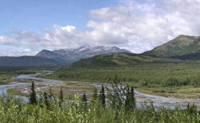 Alaska, route d'Anchorage